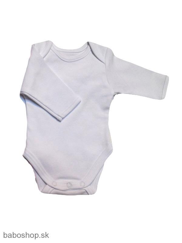 c1fcf8664 Body | GAJI / Body dojčenské dlhý rukáv 56-104 - biely lém | Detské ...