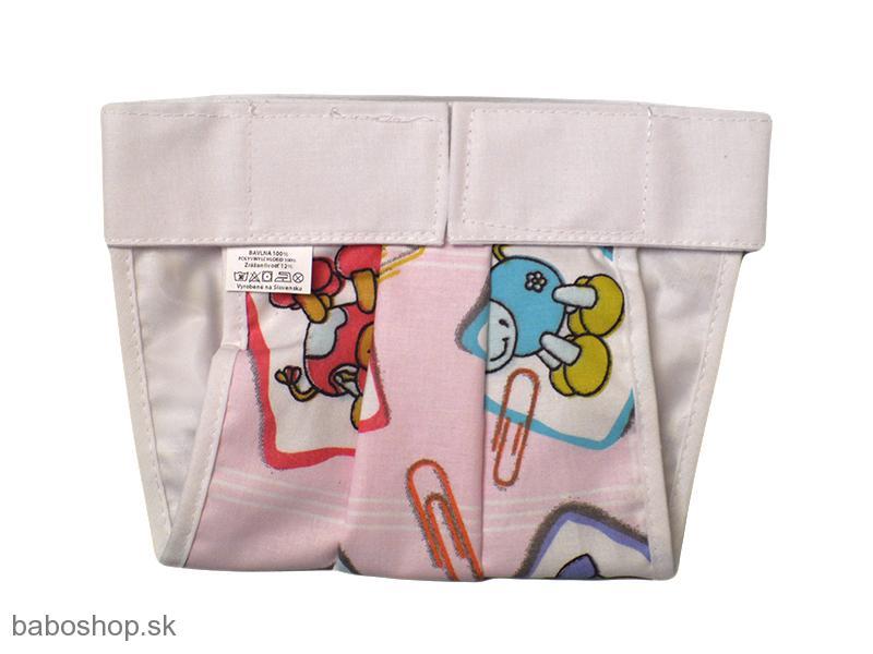 e1526682f03e GAJI   Ortopedické nohavičky na suchý zips farebné lem.